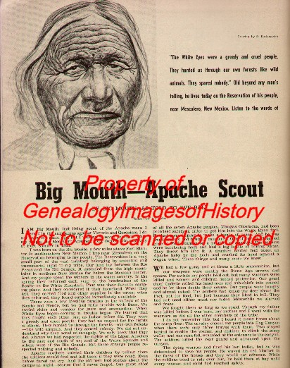 Mescalero-Apache-History-Of-Scout-Big-Mouth-Genealogy